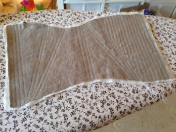 Boning channels in corset