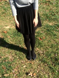 Fleece lined tights (Urban Outfitters)