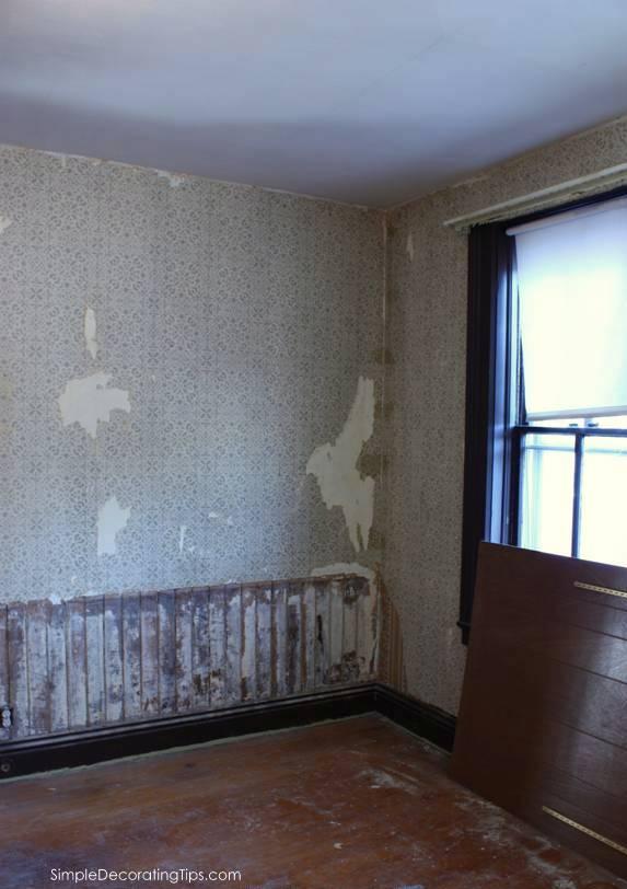 SimpleDecoratingTips.com Little Brick Cottage Dining Room Before and After