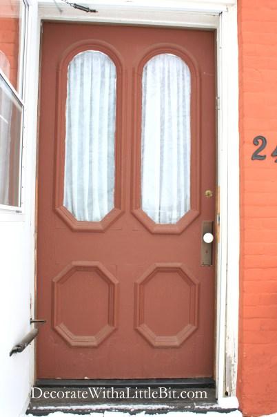 1 old front door