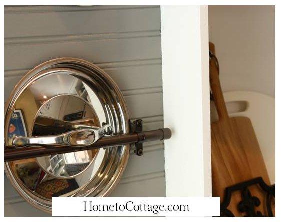 HometoCottage.com potrack lid area