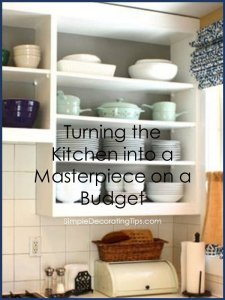 Turning the Kitchen into a Masterpiece on a Budget SimpleDecoratingTips.com