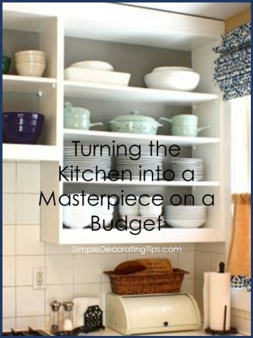 Kitchen Budget Reno SimpleDecoratingTips.com