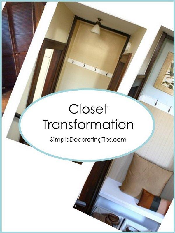 Closet Transformation SimpleDecoratingTips.com