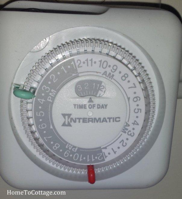 HomeToCottage.com timer inside close up