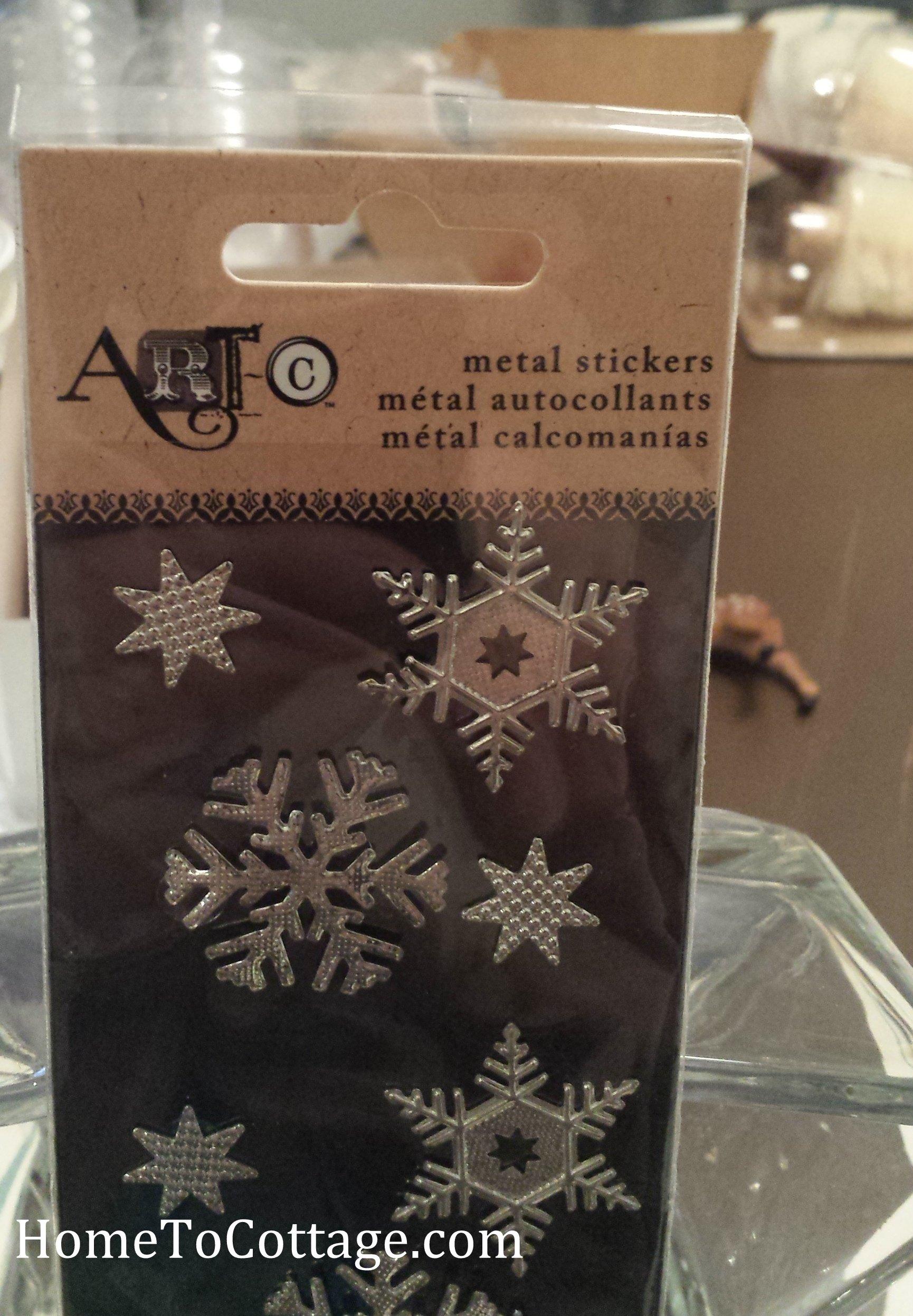 5 HomeToCottage.com diorama snowflakes