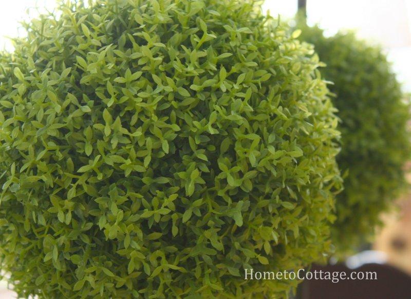 HometoCottage.com topiary ball