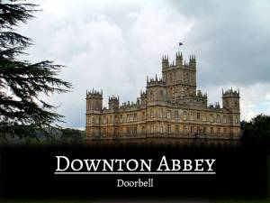 HometoCottage.com Downton Abbey Doorbell