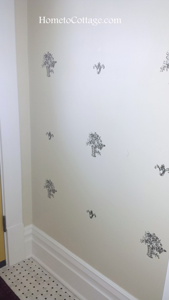 HometoCottage.com new wall pattern