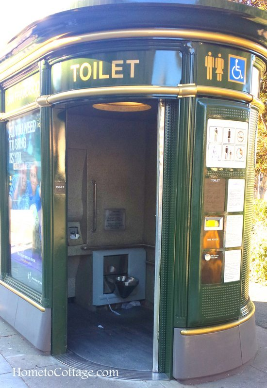 HometoCottage.com toilet in park open