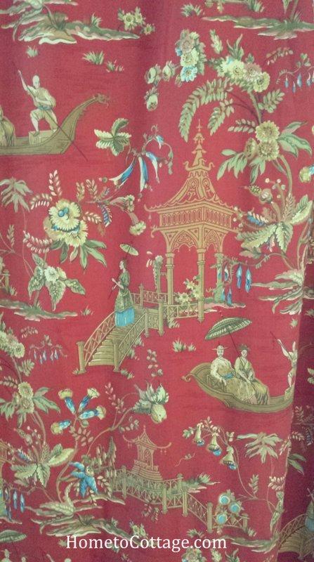 HometoCottage.com chinoiserie fabric
