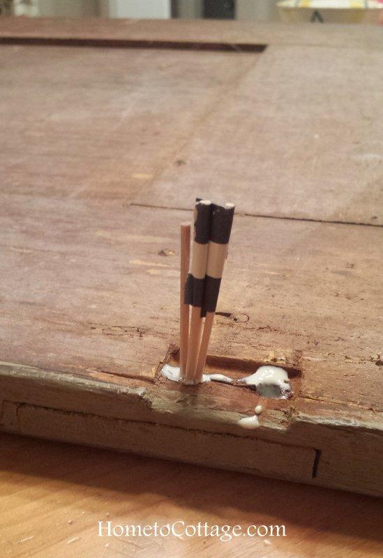 HometoCottage.com shove in toothpicks