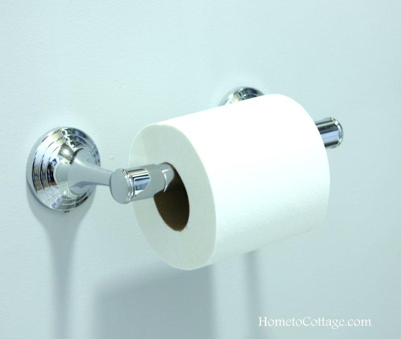 HometoCottage.com Pottery Barn toilet paper holder