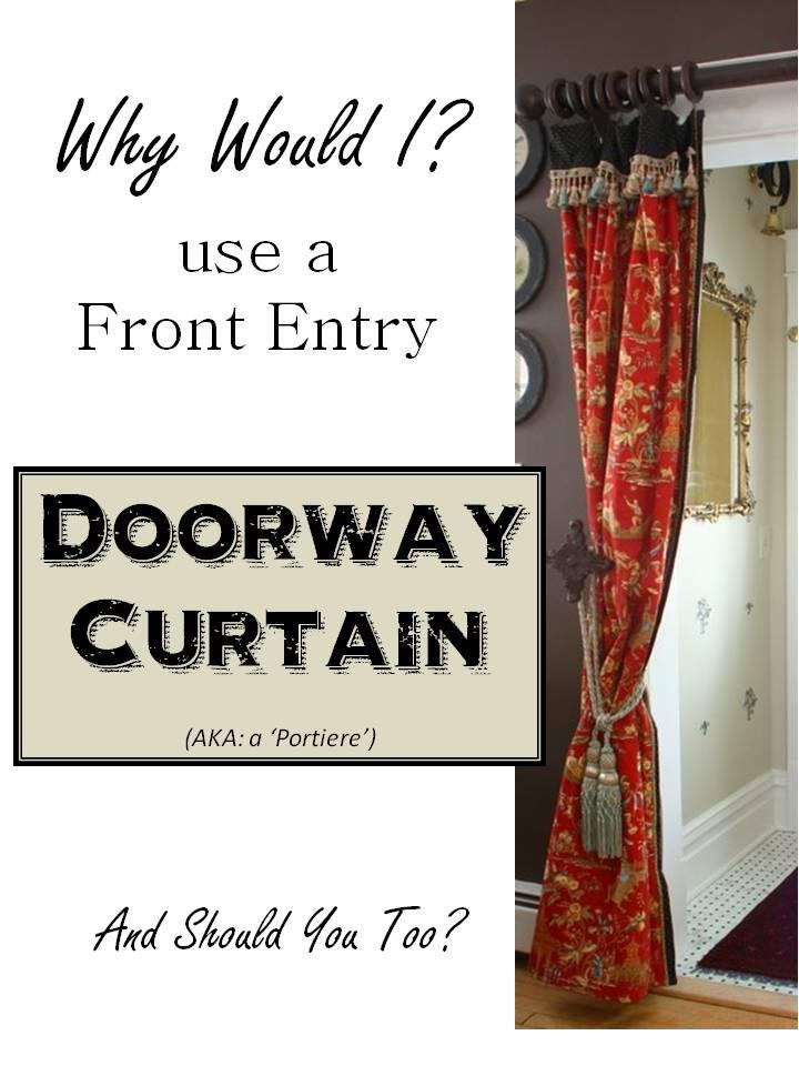 HometoCottage.com Doorway Curtain Portiere