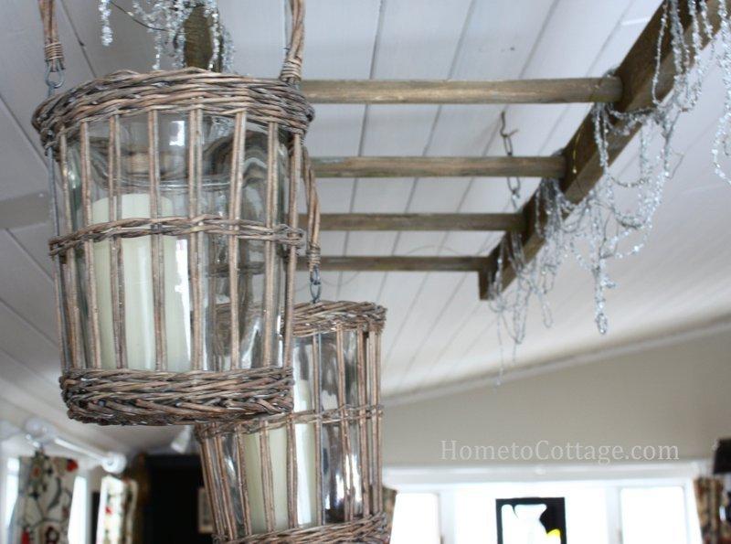 HometoCottage.com finished breakfast room ceiling