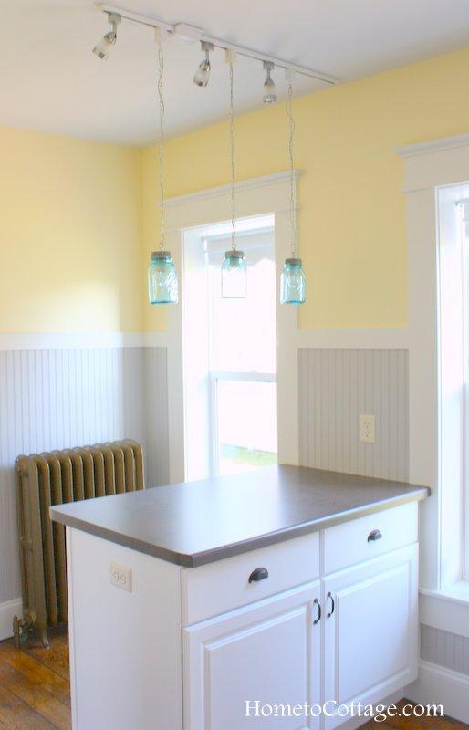 HometoCottage.com brick cottage farmhouse style kitchen done 1