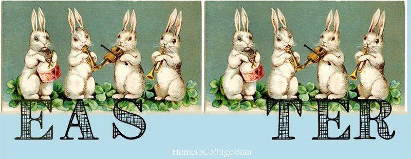 HometoCottage.com bunny EASTER graphics