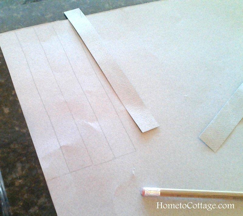 HometoCottage.com tagboard handle stiffeners