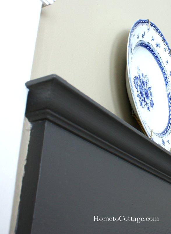 HometoCottage.com plate rail top depth