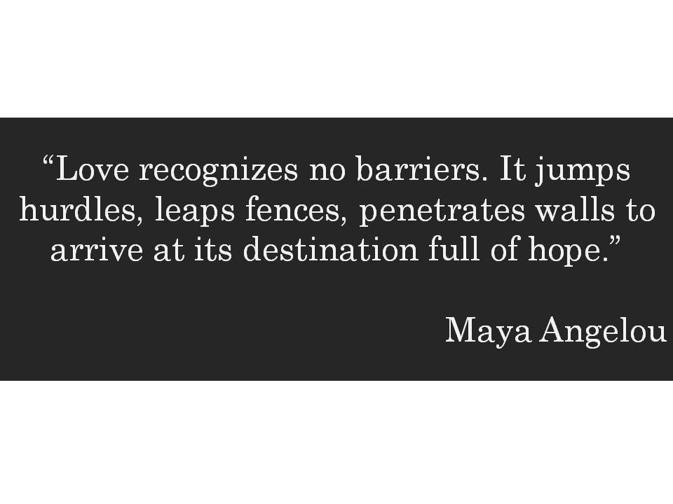 HometoCottage.com Maya Angelou quote