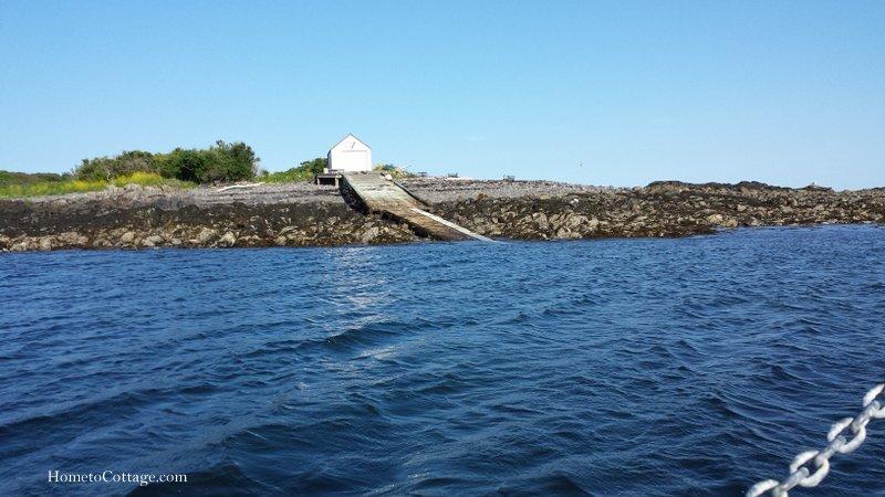 HometoCottage.com landing area on island