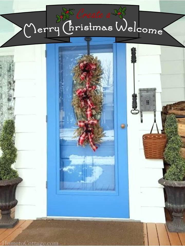 HometoCottage.com Create a Merry Christmas Welcome