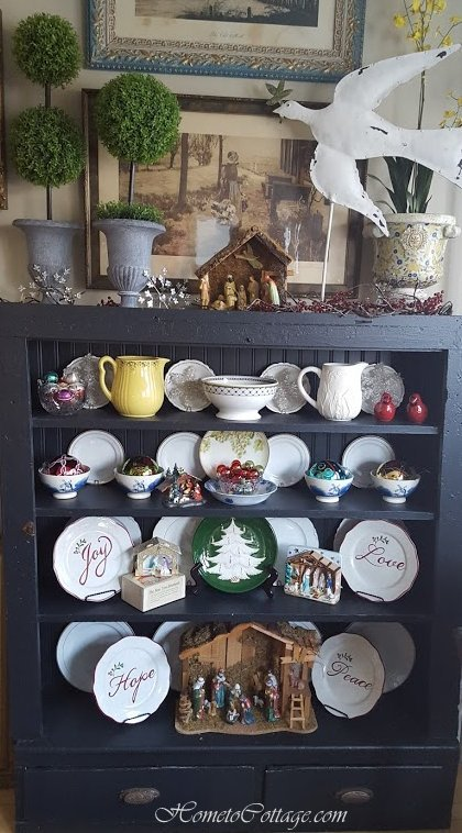 www.HometoCottage.com nativity collection