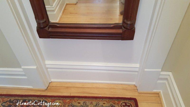 HometoCottage.com inset and trimmed back board base