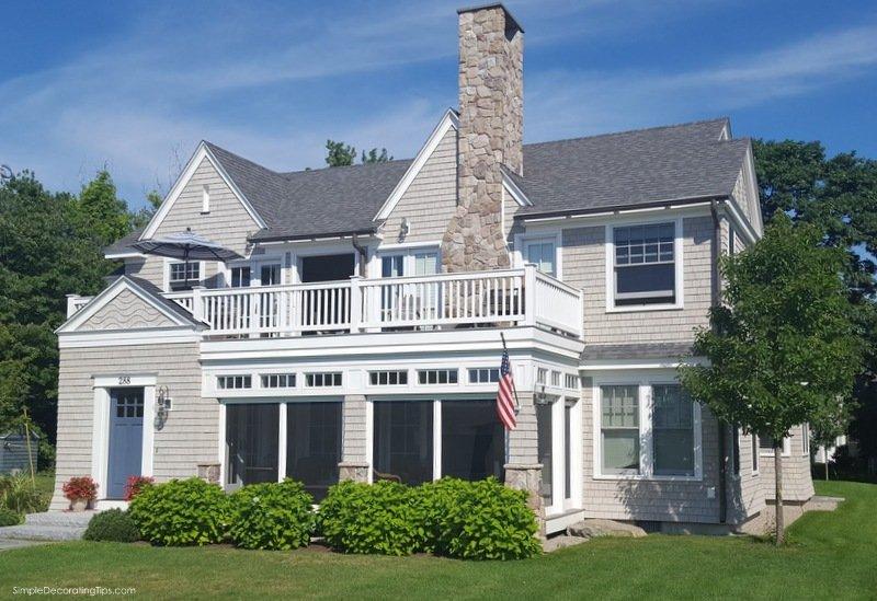 SimpleDecoratingTips.com Coastal Maine, New England Style Houses
