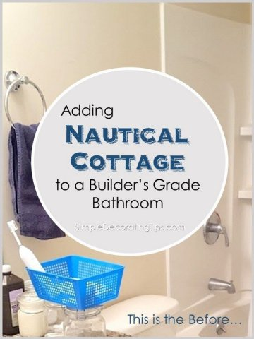 Nautical Cottage Bathroom SimpleDecoratingTips.com