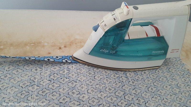SimpleDecoratingTips.com beginner sewing diy simple curtain panel
