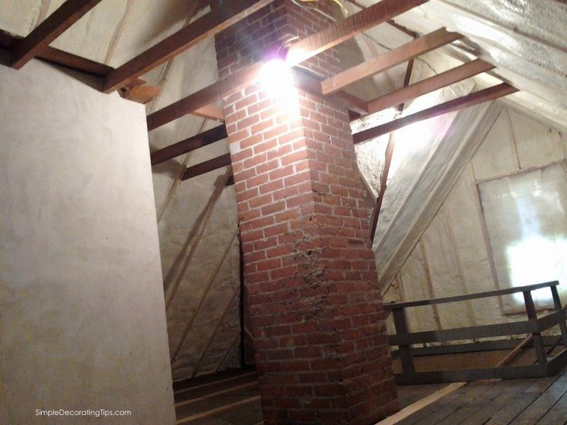 Our 100 Year Old House Attic Renovation Simple Decorating Tips