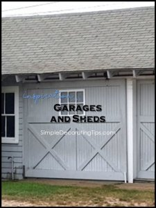 SimpleDecoratingTips.com Inspiration Garages and Sheds