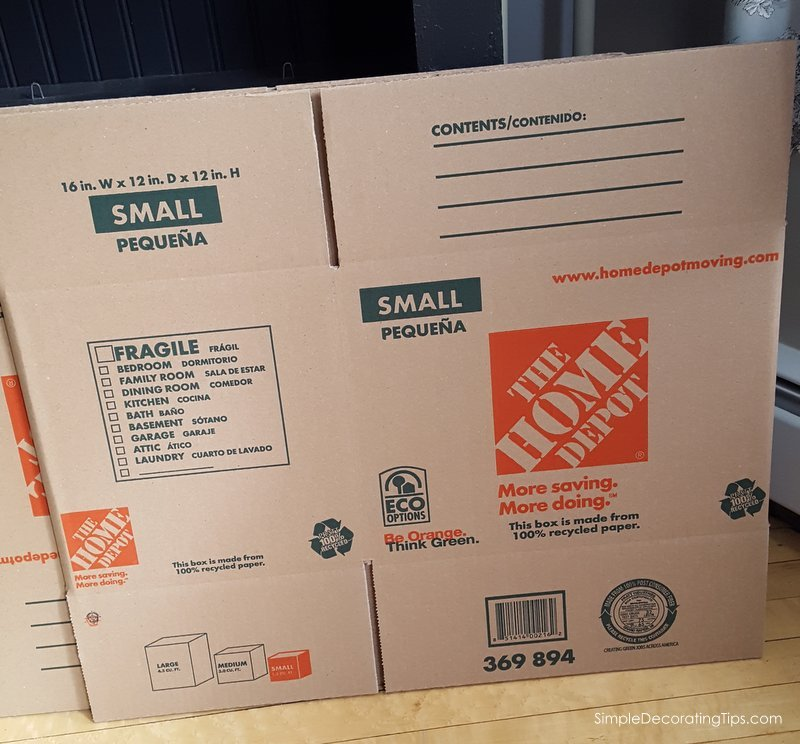 SimpleDecoratingTips.com Tips for packing and moving