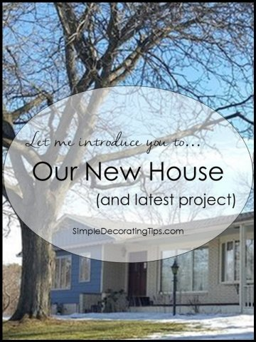 Introducing Our New House SimpleDecoratingTips.com