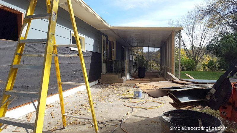 SimpleDecoratingTips.com Progress Report on our Whole House Renovation