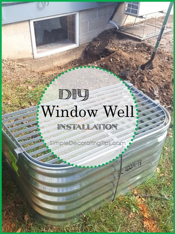 How to Tips… Window Well Installation