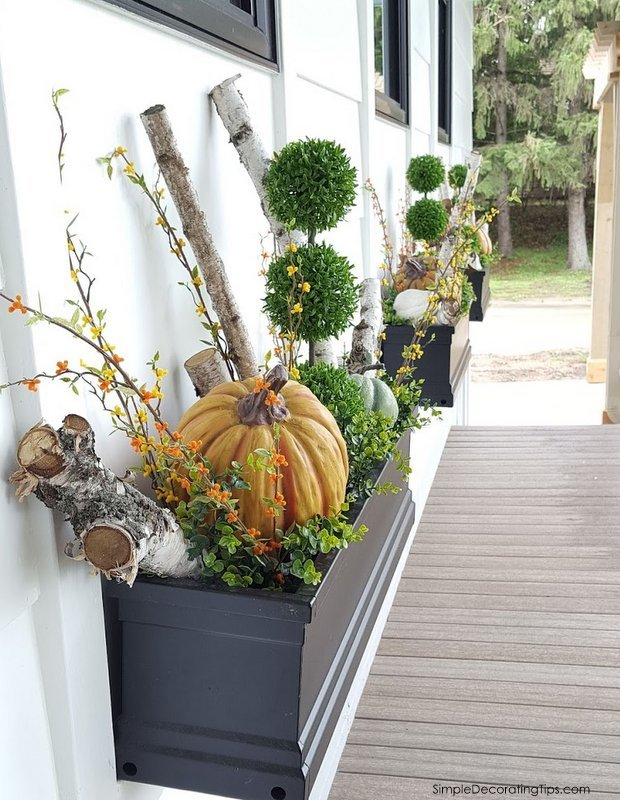 Fall Porch Ideas SimpleDecoratingTips.com