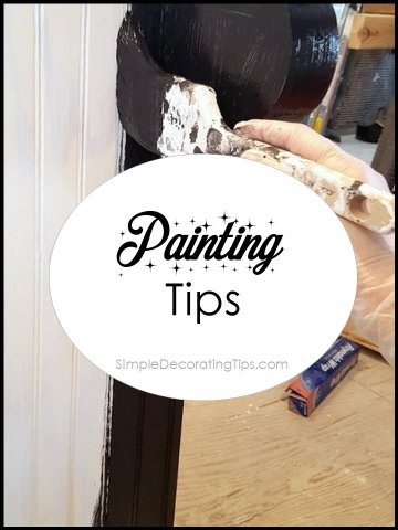 Painting Tips SimpleDecoratingTips.com