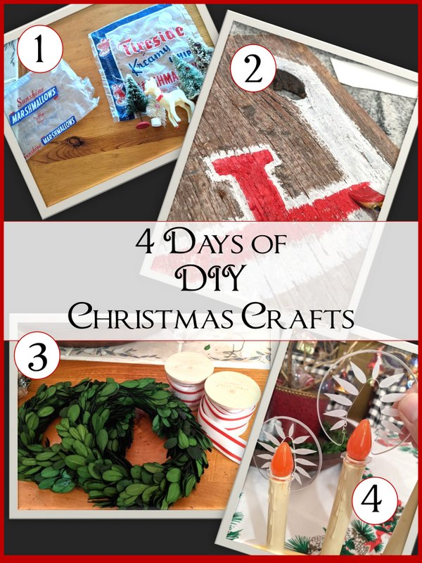 4 Days of DIY Christmas Crafts - SIMPLE DECORATING TIPS
