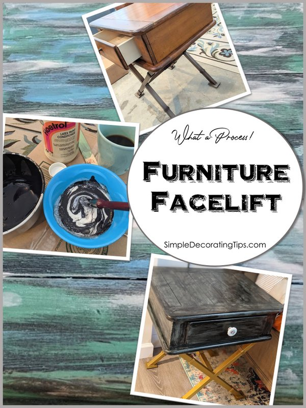 Furniture Facelift - SIMPLE DECORATING TIPS