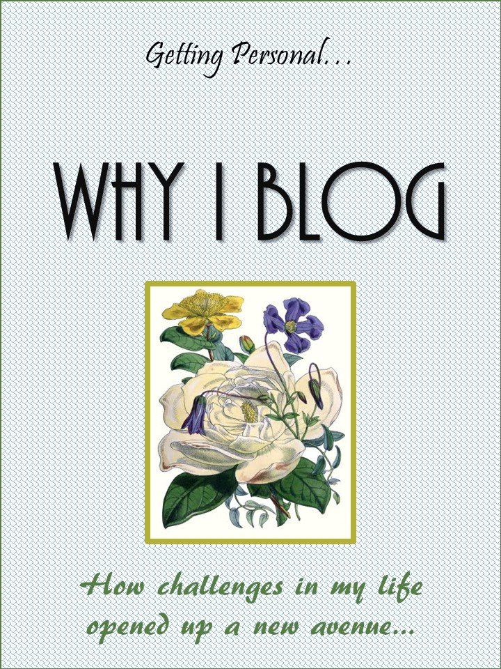 HometoCottage.com getting personal... why I blog, how my challenges in life opened up a new avenue