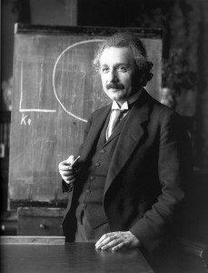 Einstein knew about content marketing