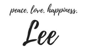 peace, love, happiness, Lee