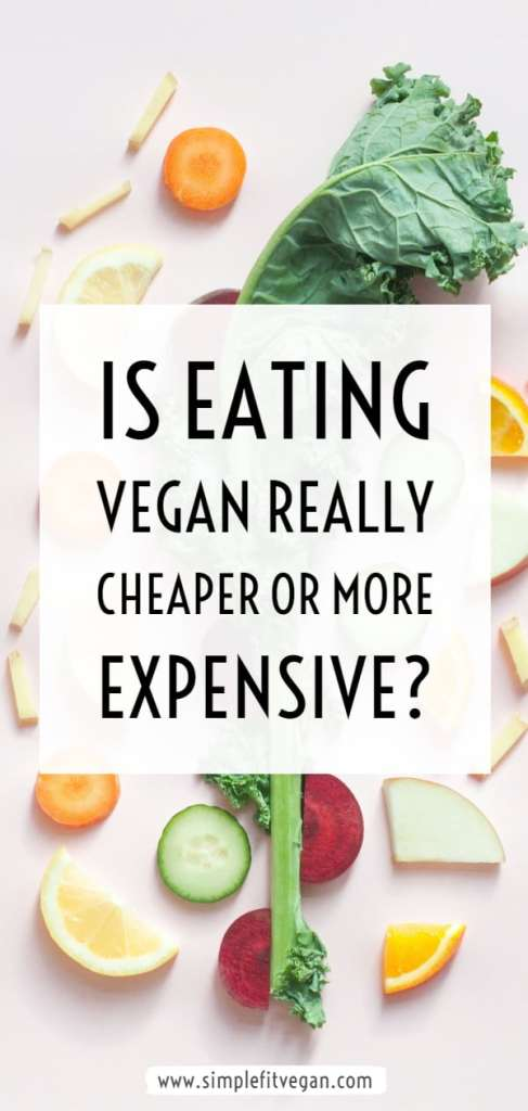 are vegan diets cheaper