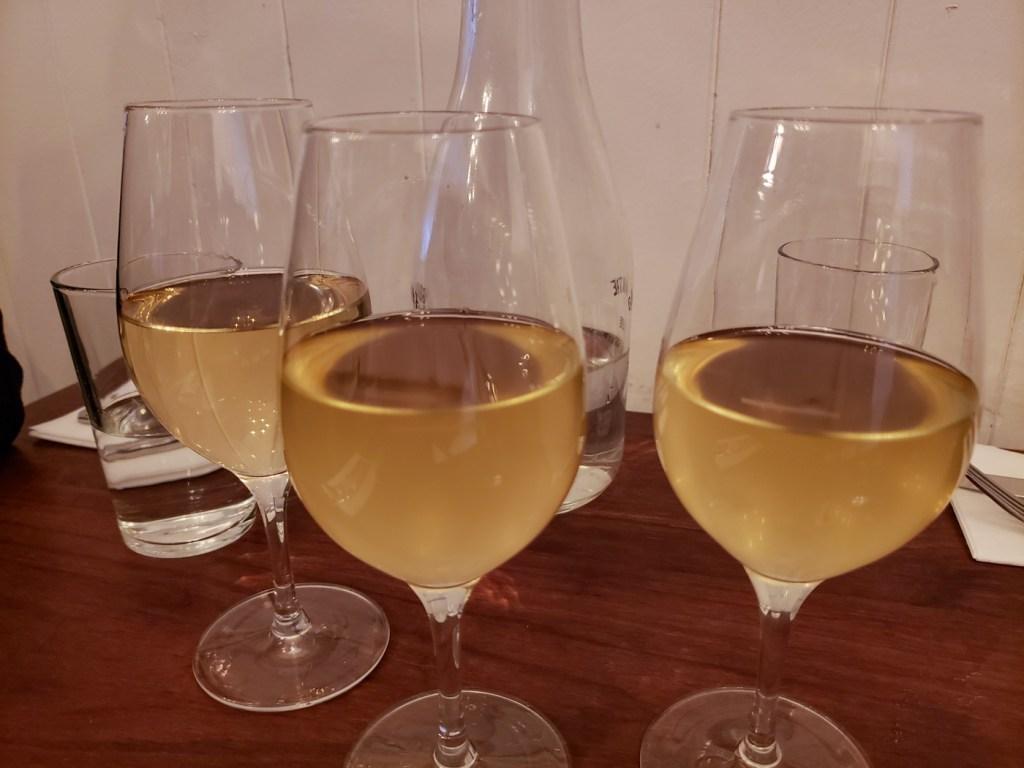 Wine at Le Vin Papillon