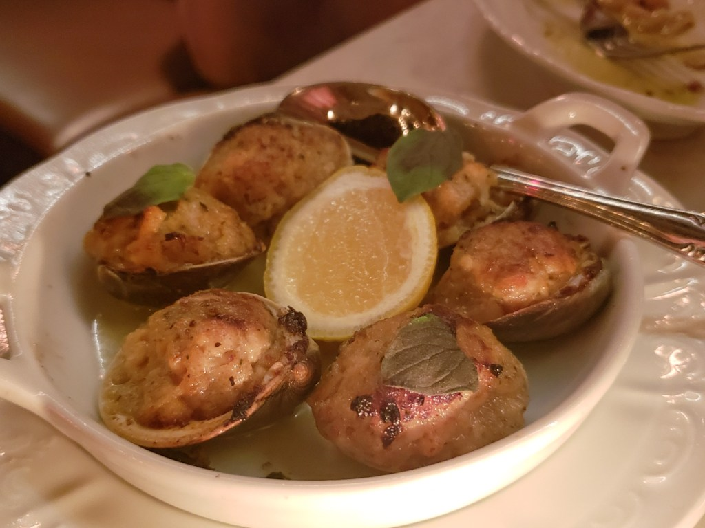 Clams Oreganata at Giuseppe and Sons