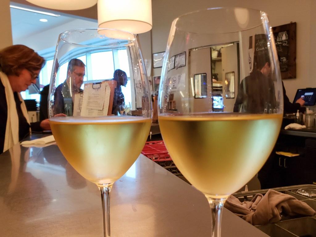 Pre-flight Wine at Vino Volo