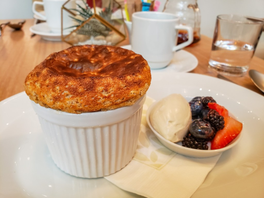 Stone-Ground Oatmeal Souffle