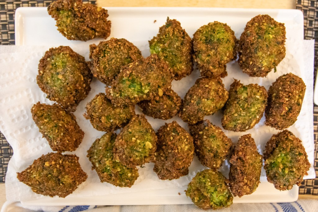 Fresh Herb Falafel